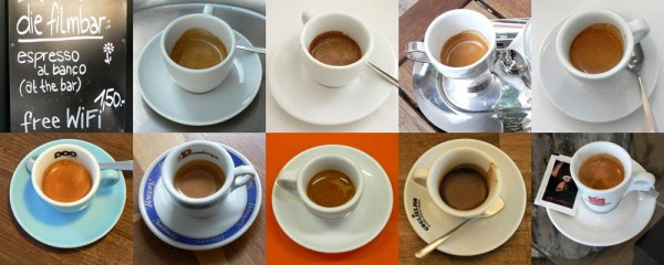 Espresso in Wien