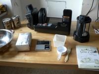 Gene Café CBR-101 bereit zum ersten Rösten