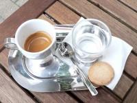 Der Espresso im Caffè A Casa