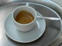 Der Espresso in der Kaffeefabrik Wien