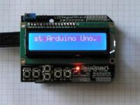 Arduino Uno mit SainSmart 1602 LCD Keypad Shield