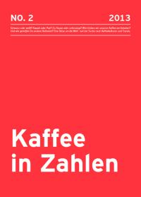 Kaffeereport 2013 von Tchibo, brand eins und statista.com